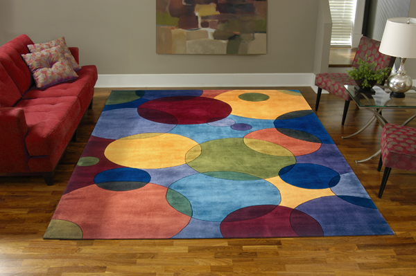 Contemporary Momeni-NW37-Multi momeni new wave area rugs