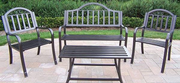Contemporary Patio metal outdoor furniture