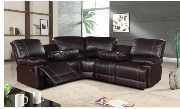 corner leather recliner sofa – Home and Textiles