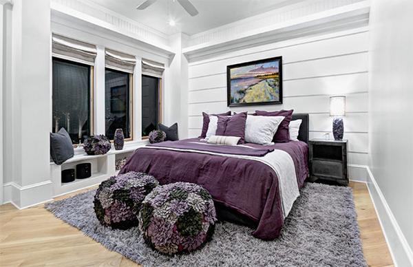 Contemporary purple master bedroom designs purple bedroom ideas master bedroom