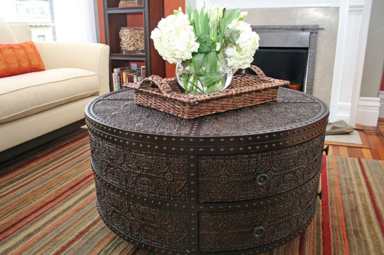 Contemporary Small Round Coffee Table American Fashion Side A Few Corner unique round coffee tables