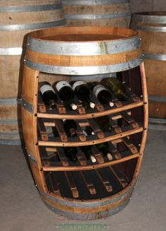 Contemporary Wine Barrel Furniture Wine Rack wine barrel wine rack furniture
