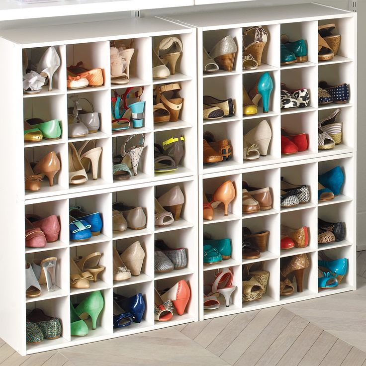 Cool 12-Pair Shoe Organizer closet shoe organizer