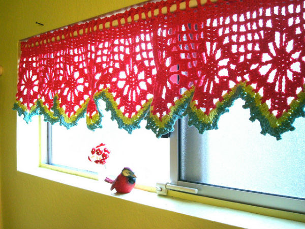 Designer Crochet Curtains