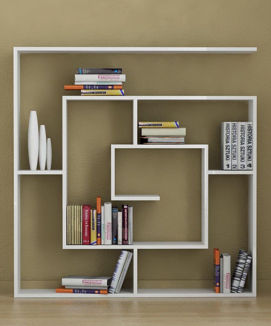 Cool 20 Creative Bookshelves: Modern and Modular modern bookshelf design