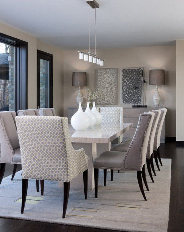 Cool 21 Captivating Contemporary Dining Room Designs contemporary dining room table sets