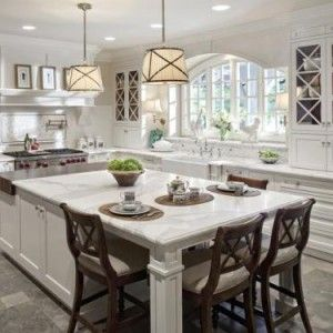 Cool 25+ best ideas about Large Kitchen Island on Pinterest | Chairs for large kitchen islands with seating and storage