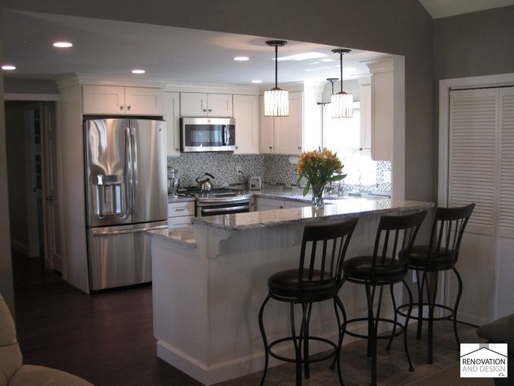Kitchen style small galley kitchen designs small galley for U shaped kitchen remodel ideas
