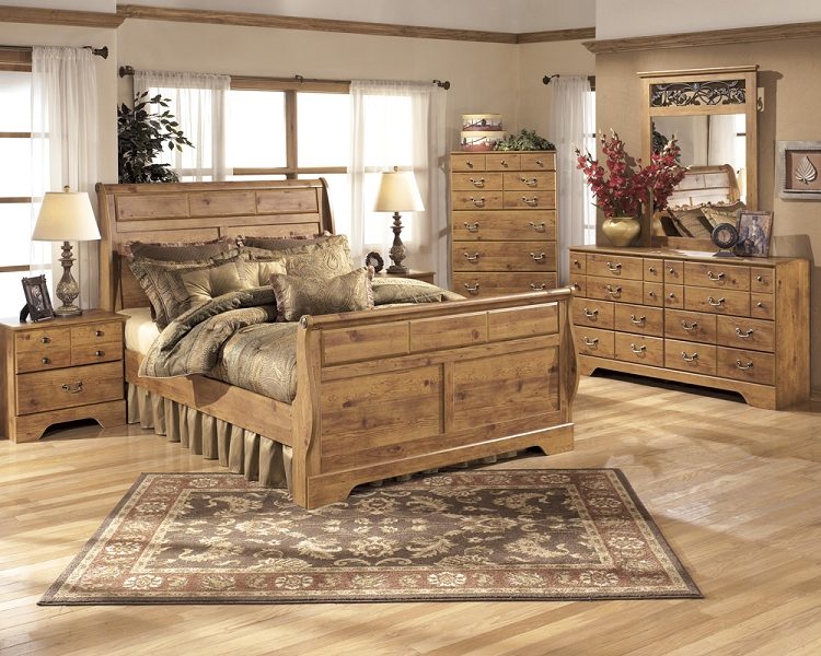 Cool B219 Bittersweet Sleigh Bedroom Set King Size king size sleigh bedroom sets