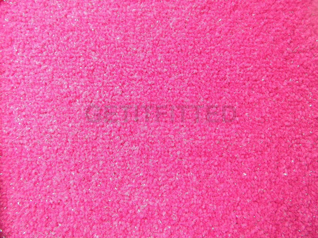 Cool BACK TO TOP pink glitter carpet