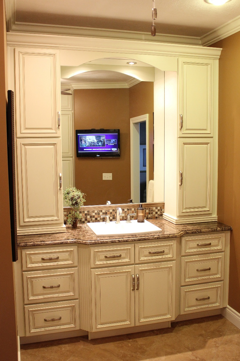 Cool Bathroom Vanities And Cabinets | Lenox Country Linen Cabinet Pictures bathroom vanity cupboards
