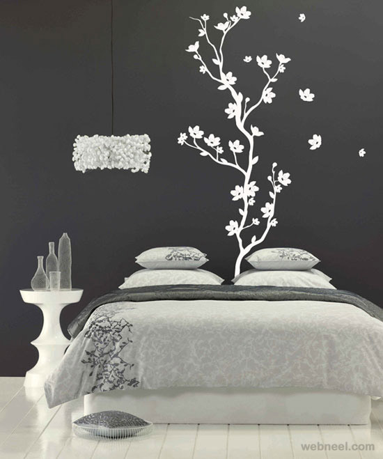 Simple Bedroom Wall Paint Designs how to get new bedroom painting ideas? - darbylanefurniture