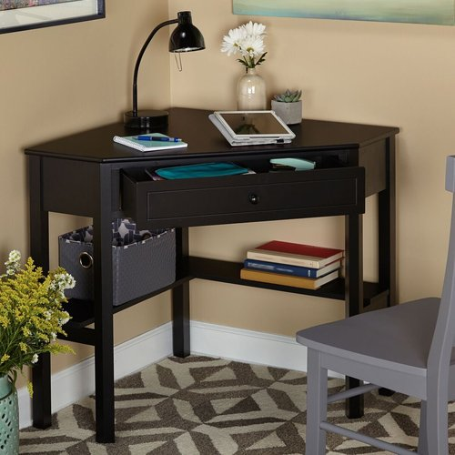 Cool Corner Writing Desk, Multiple Finishes - Walmart.com corner writing desk