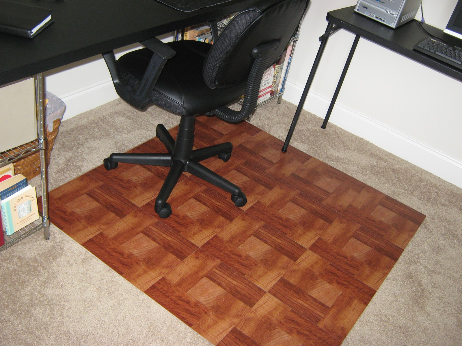 Cool DIY  carpet chair mats for hardwood floors