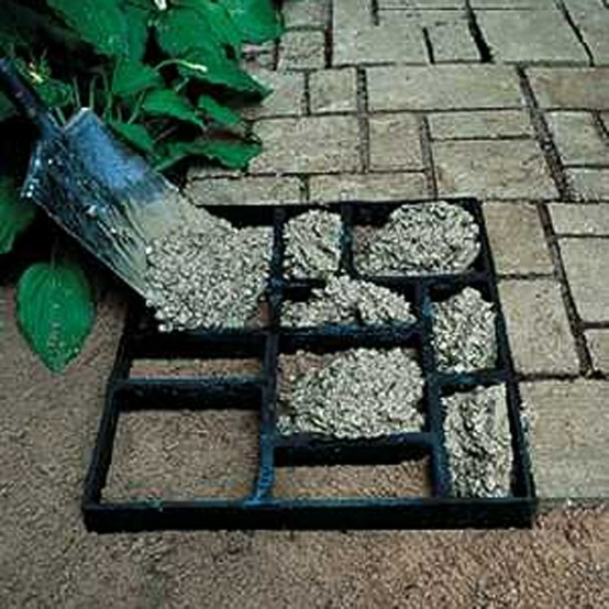 Cool DIY Pavers by mawm diy patio stones