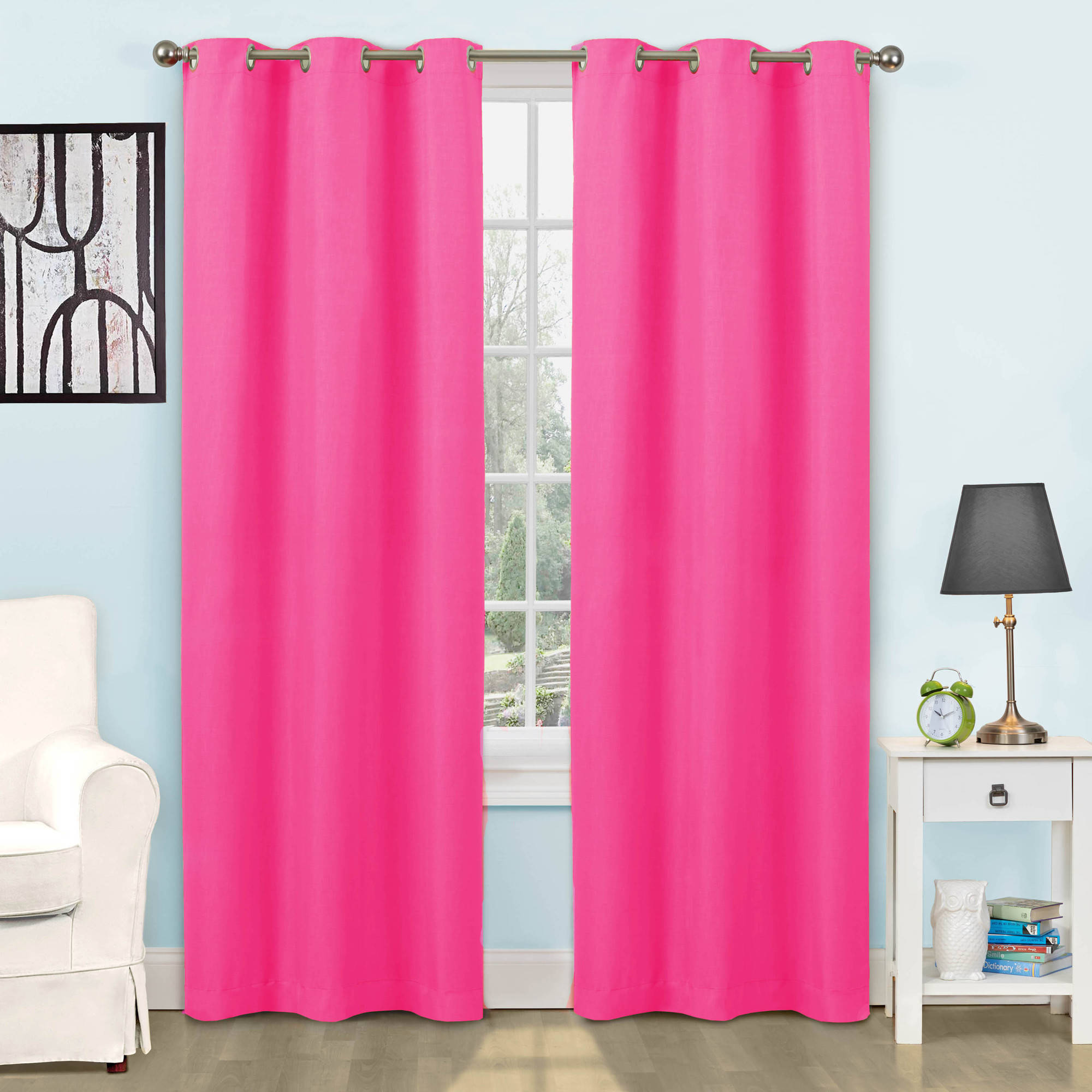 Choose kids bedroom curtains in a jiffy for Bedrooms curtains photos