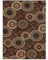 Cool Encore Carolina Area Rug - Dark Wine - 8931DW58, Central Oriental central oriental rugs