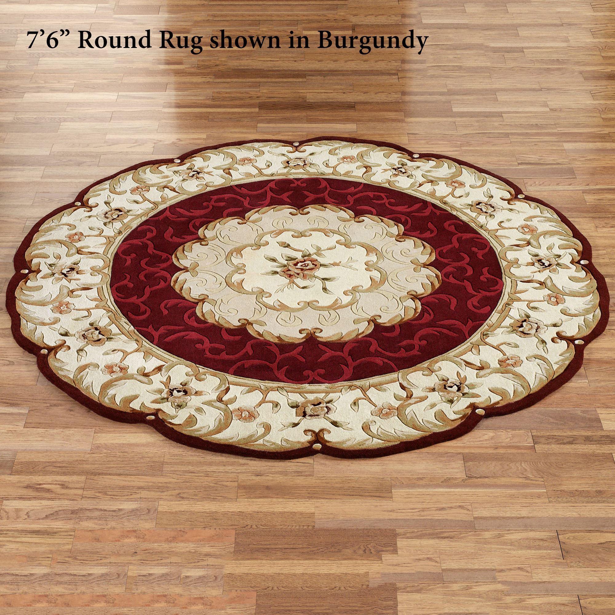 Cool Evaline Round Rug 6 foot round rug