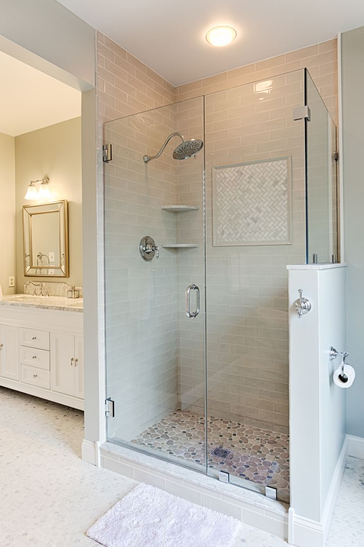 Shower remodel making the bathing experience better Bathroom remodeling ideas shower stalls