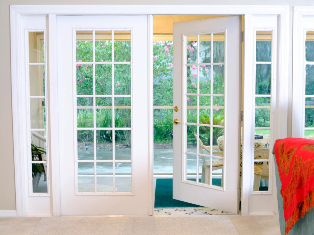 Benefit of having sliding patio doors