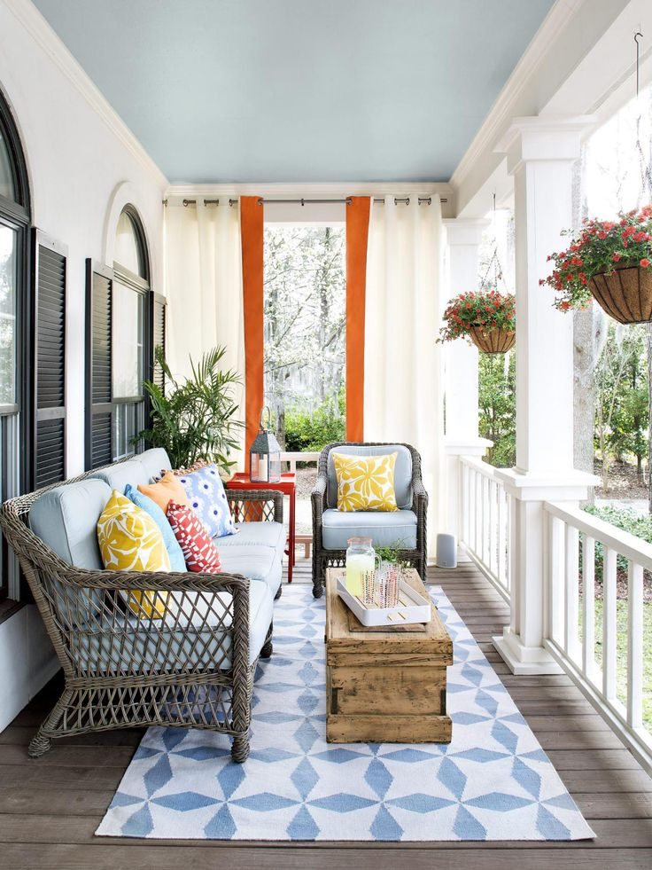 Cool Front Porches Porch Furniture