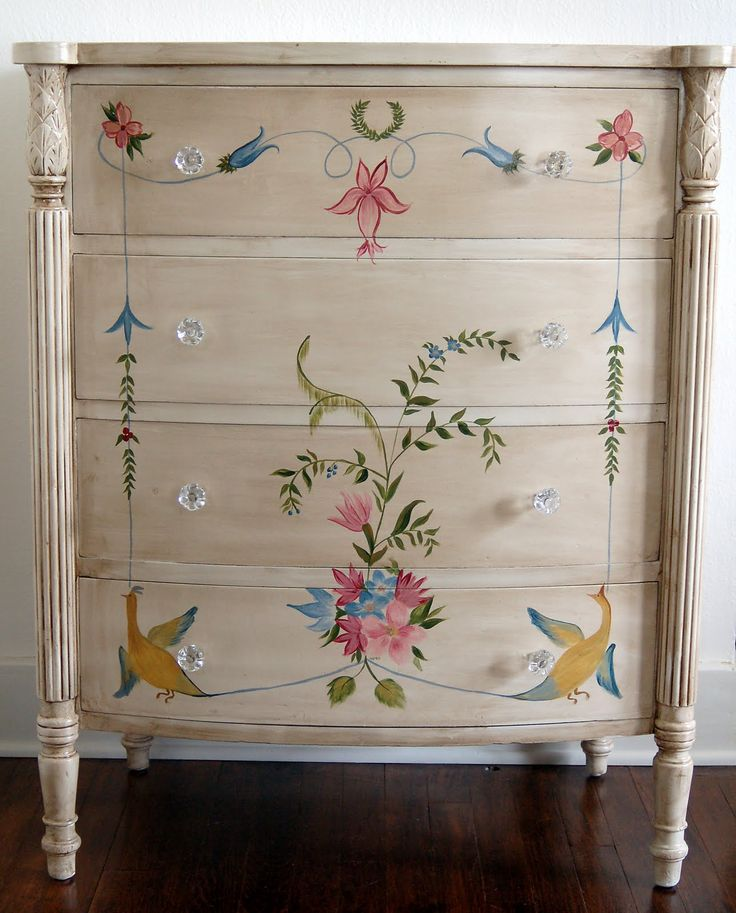 Cool Hand Painted Furniture Ideas