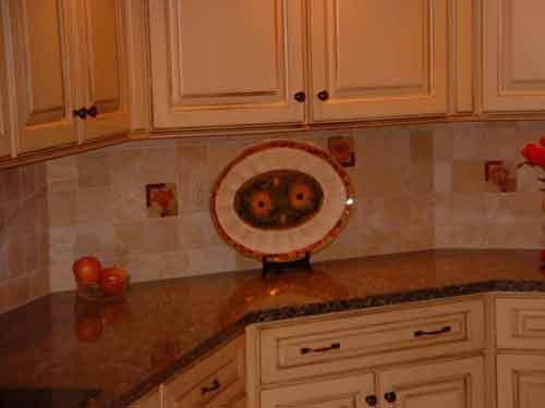 Cool ... Kitchen Backsplash accent tile designs kitchen tile backsplash designs