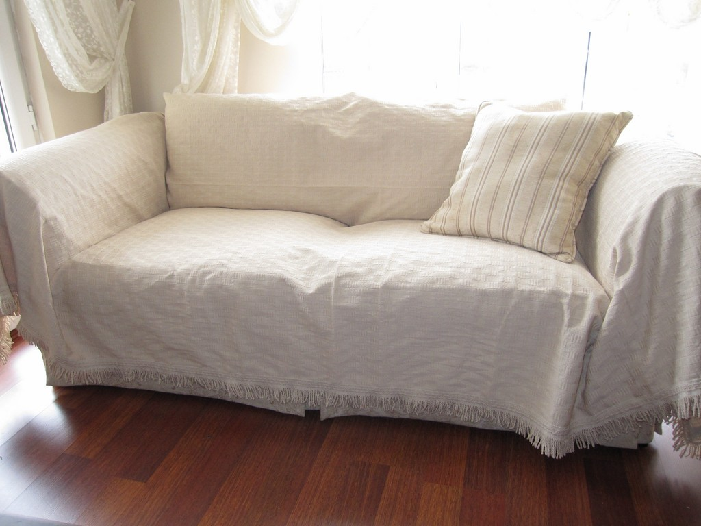 Cool Large - Sofa Throw Covers Rectangle Tassel Ivory-couch Coverlet large sofa throws