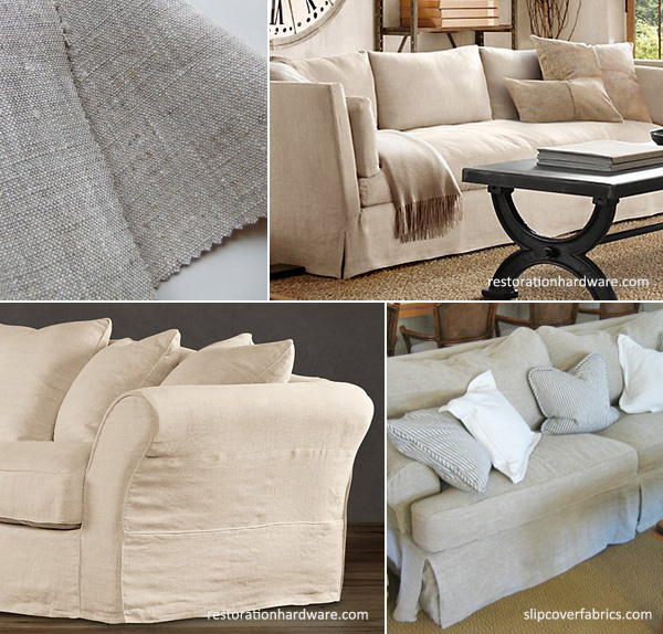 Linen Sofa Slipcover Linen Sofa Single Seat Cushion Thesofa