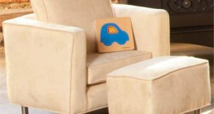 Cool Mod Toddler Chair and Ottoman from Bratt Decor toddler lounge chair