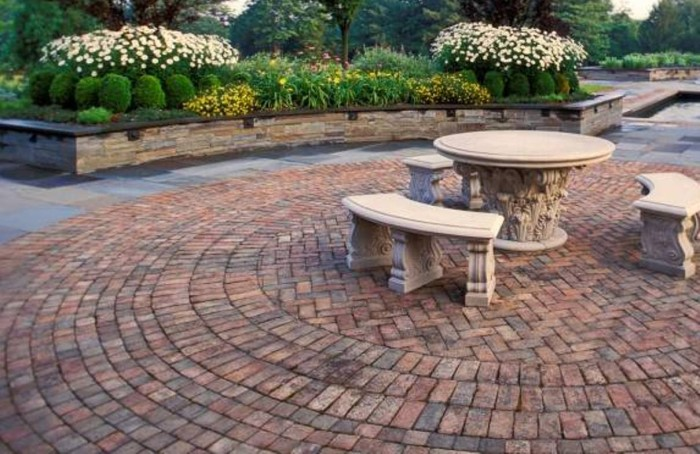Charming Cool Patio Flooring Home Design Patio Flooring Options