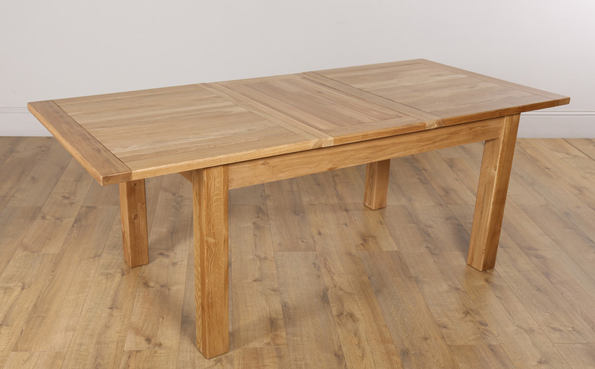 Cool Portland Oak Extending Dining Table oak extending dining table