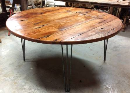 Cool Round Reclaimed Wood Dining Table Kisiwa For The Elegant Round Reclaimed reclaimed wood round dining table