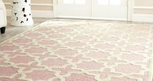 Cool Safavieh Cambridge Light Pink/Ivory 9 ft. x 12 ft. Area Rug-CAM125M-9 - The light pink rug