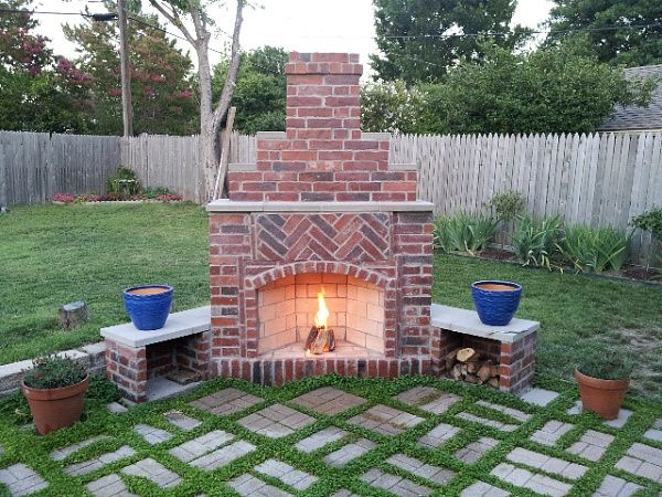 Cool Small Outdoor Brick Fireplaces | Related Post from DIY Outdoor Fireplace diy outdoor fireplace