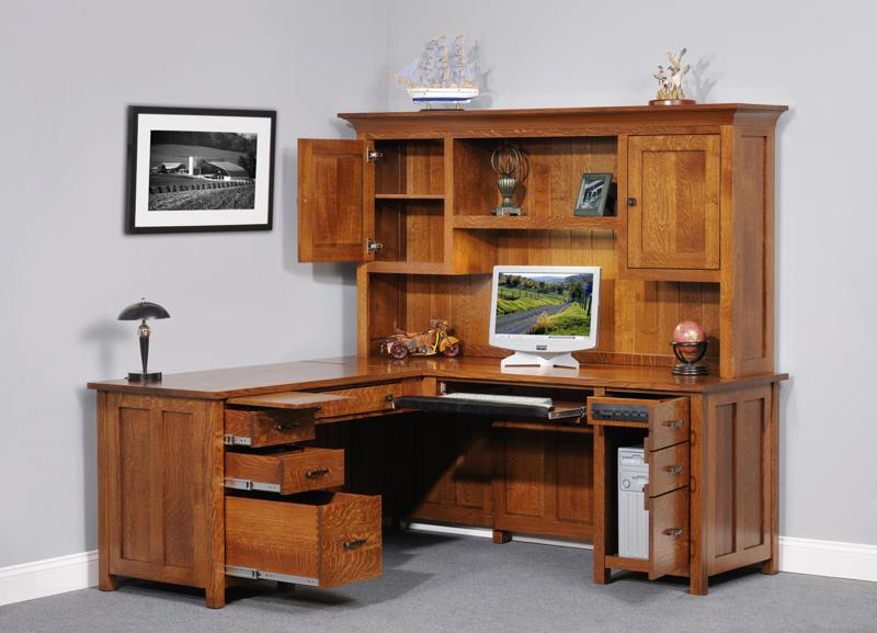 Cool Wood Corner Desk With Hutch. Furniture ArtfulTherapy.net - Corner Desk Hutch corner office desk with hutch