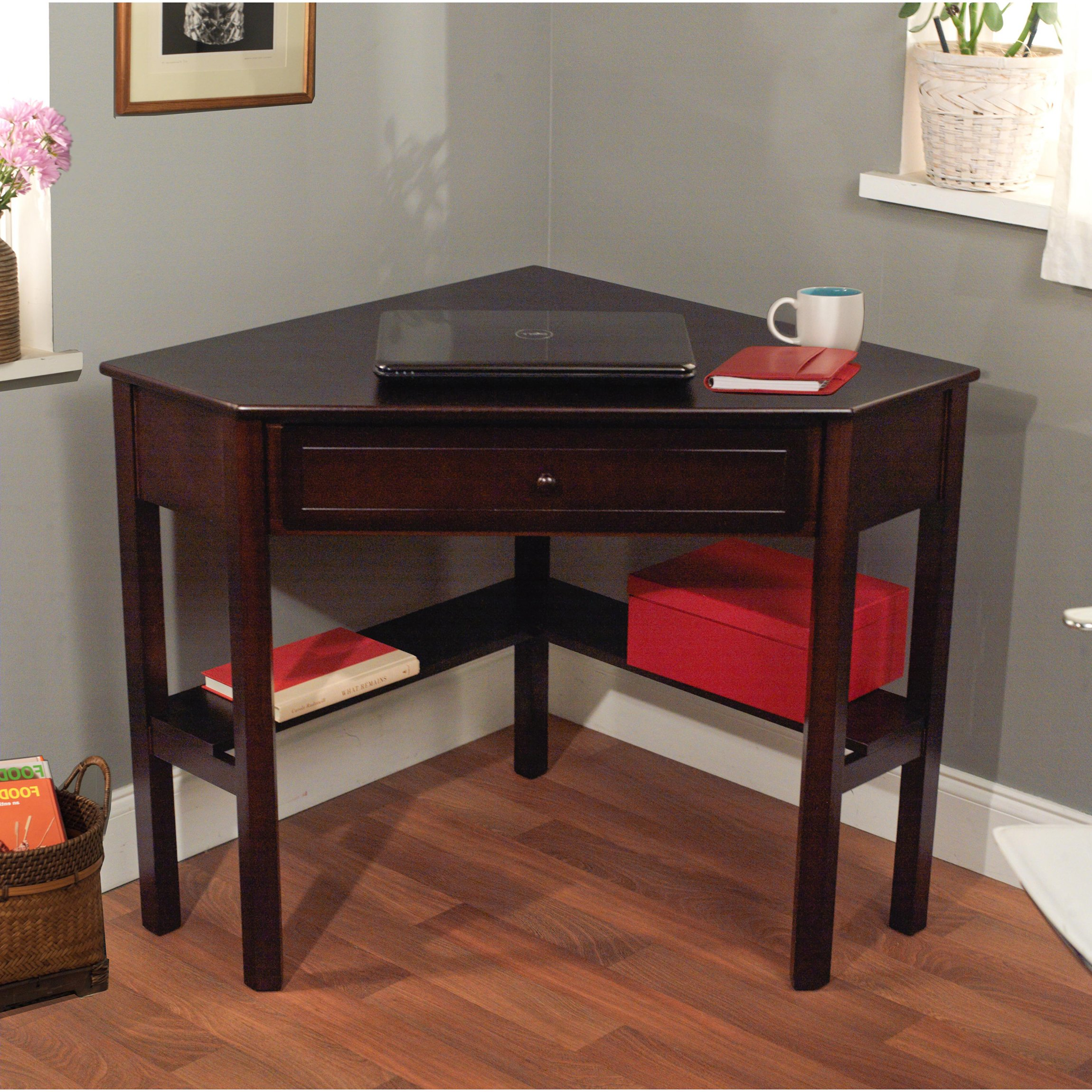 Beautiful Andover Millsu0026reg; Ansara Corner Writing Desk corner writing desk