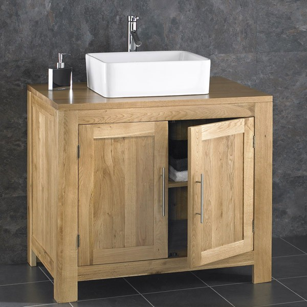 Cozy 1000 images about Oak Cabinets from Clickbasin on Pinterest Oak cabinets  Solid oak bathroom furniture freestanding