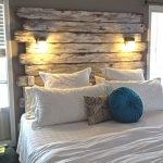 Making modern headboard ideas by your own