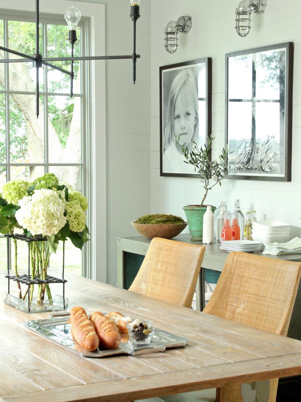 Cozy 15 Dining Room Decorating Ideas | HGTV dining room decoration ideas