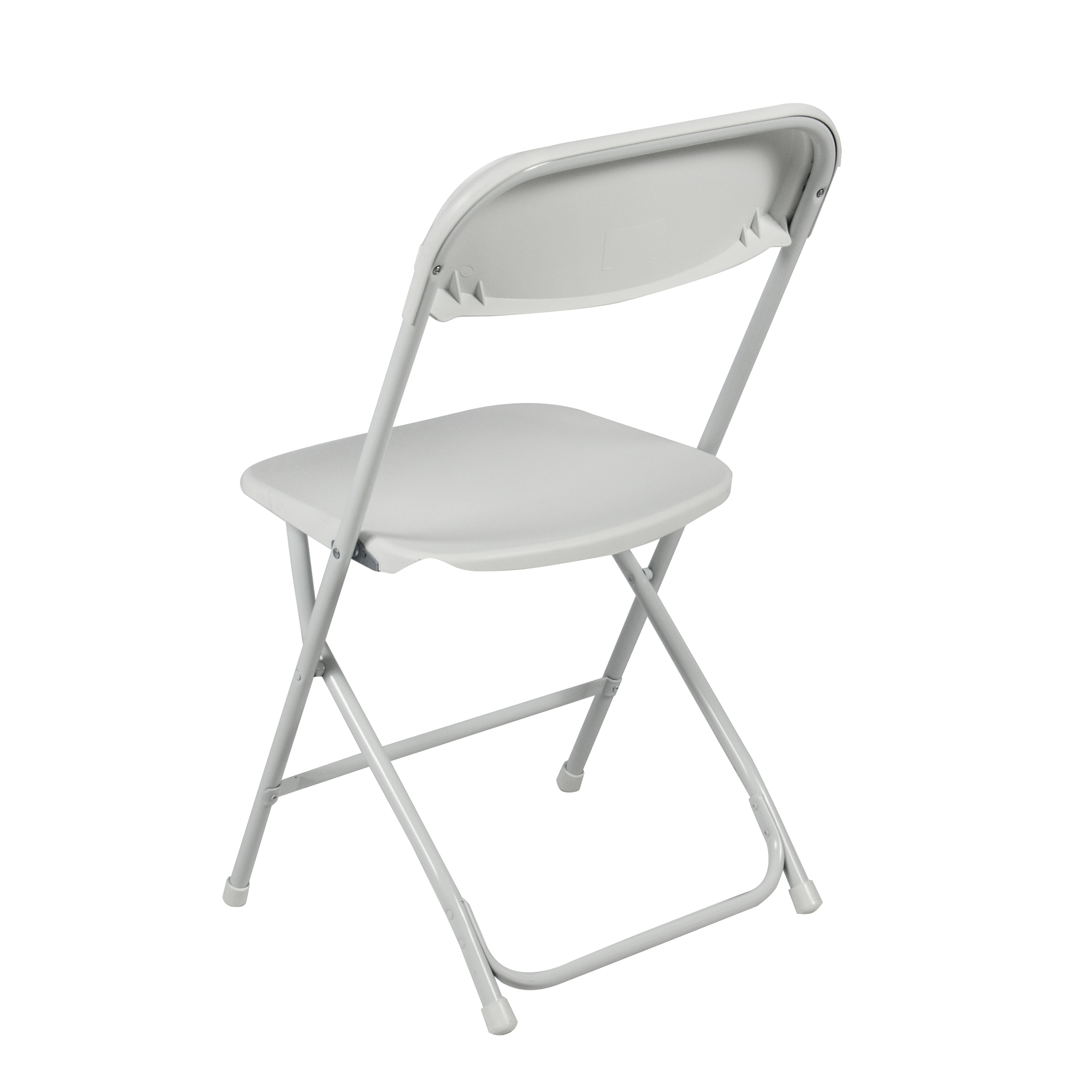 Cozy (5) Commercial White Plastic Folding Chairs Stackable Wedding Party Event  Chair plastic folding chairs