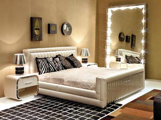 Cozy Bedroom decorating with mirrors bedroom wall mirrors
