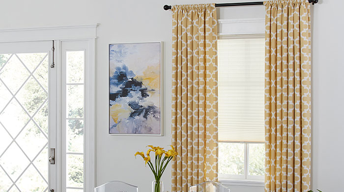 Cozy Blinds.com Easy Rod Pocket Drapery custom drapery panels