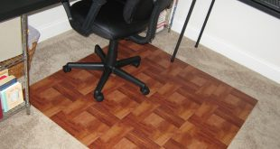 Cozy DIY  small desk chair mats for carpet