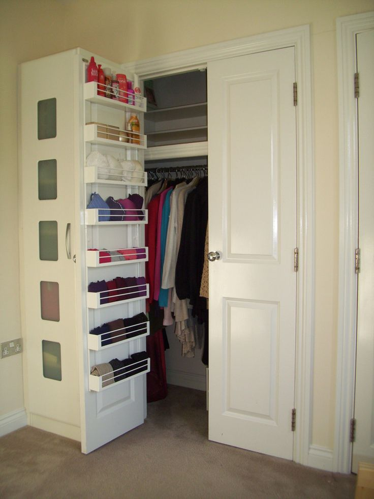 Cozy Door storage might mean fewer drawers required, which might mean less bedroom storage furniture