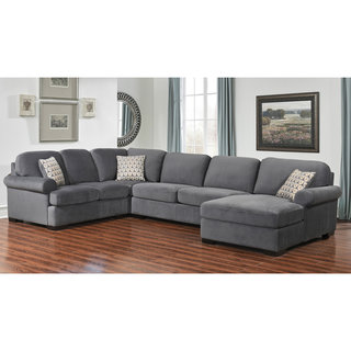 Cozy Grey Sectional Sofas - Shop The Best Deals For May 2017 gray sectional sofa