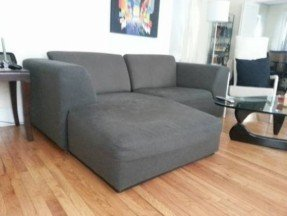 Cozy Grey Small Sectional Sleeper Sofa small sectional sleeper sofa