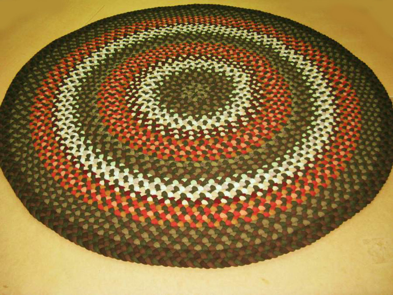 Cozy Handmade Braided Rugs by Marge: round braided rugs