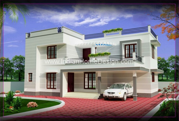 Simple home design home design plan for Cozy home designs