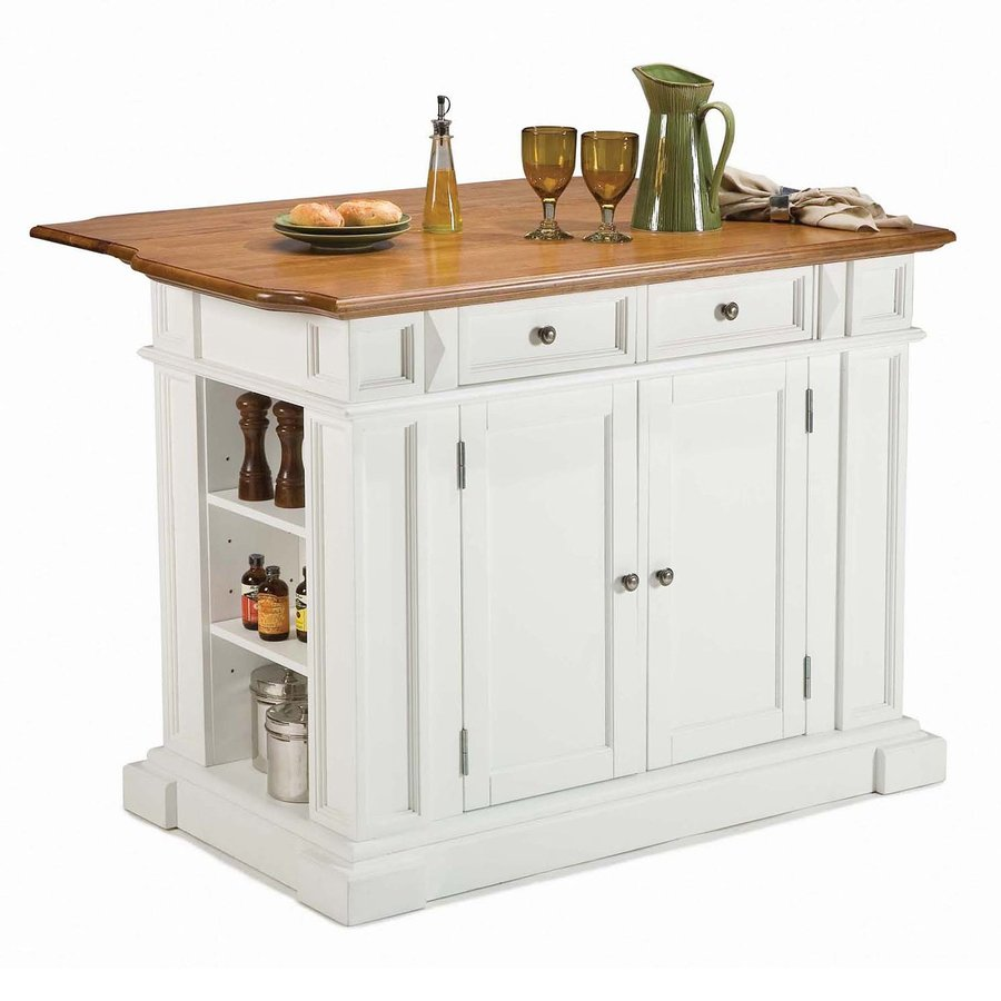 Cozy Home Styles 48-in L x 25-in W x 36-in H kitchen carts and islands